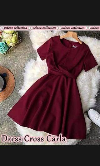 NEW Dress maroon cantique fit to 59kg