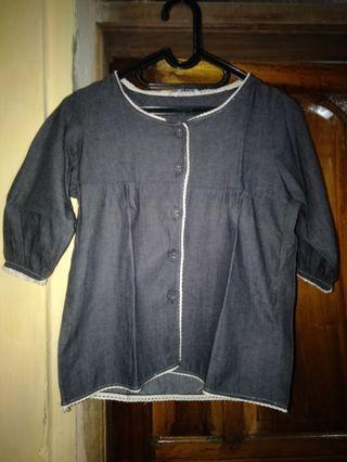 Cardigan grey S fit to M