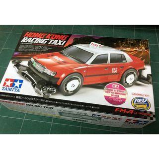 全新TAMIYA 4WD 92402 Hong Kong Racing Taxi (Mini 4WD) 香港的士 Special Edition 特別版 四驅車