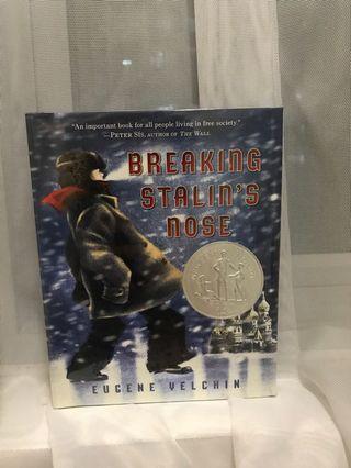 🚚 Breaking Stalin's Nose by Eugene Velchin Hardcover