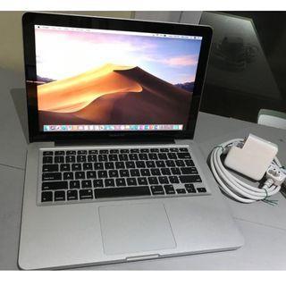Macbook pro 13 core i5 2.5ghz 1.5GB Graphic