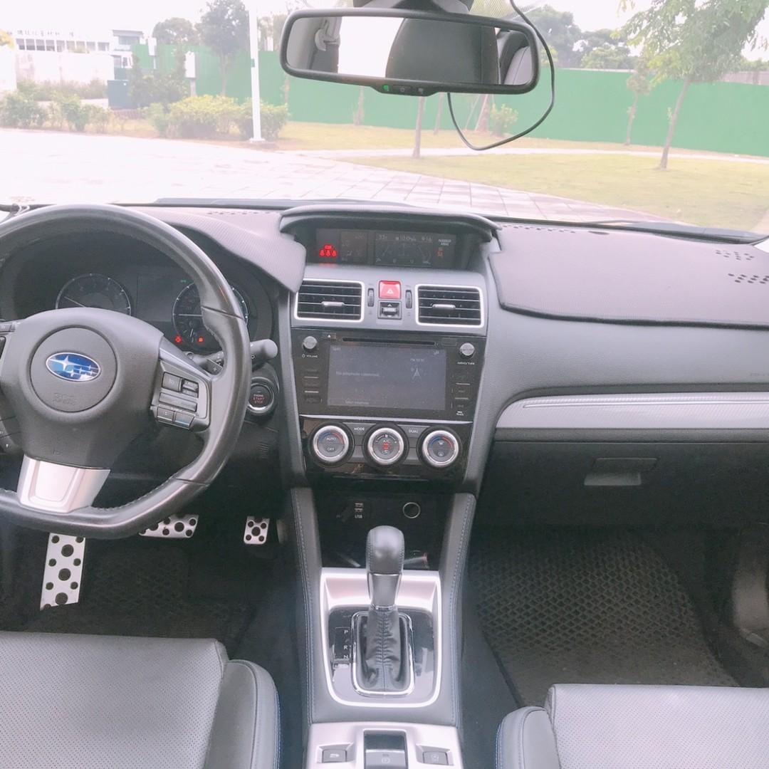 2016年    SUBARU    LEVORG    1.6  GT-S  只跑5萬多
