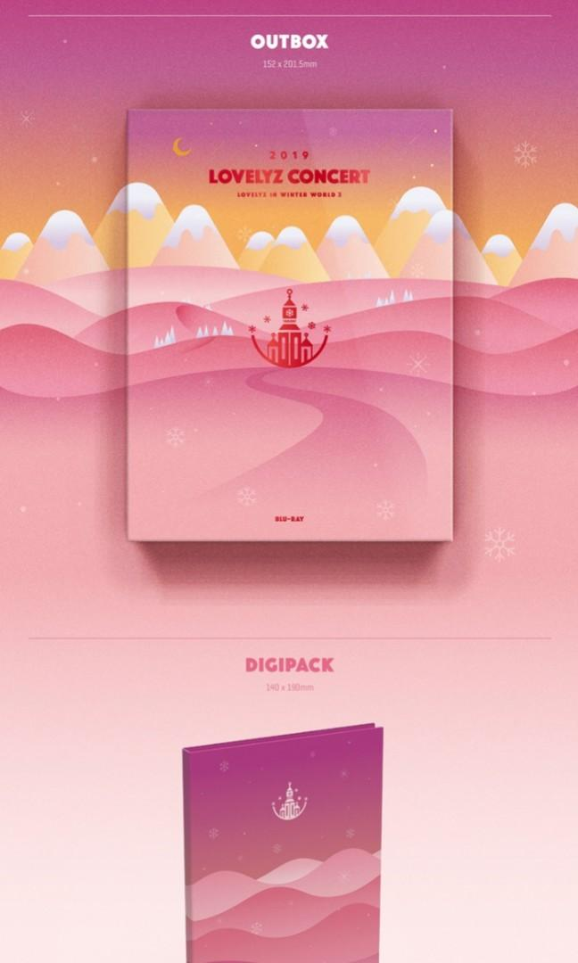 2019 LOVELYZ CONCERT - LOVELYZ in Winter Land3 Blu-ray