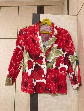 BN Jaspal floral jacket