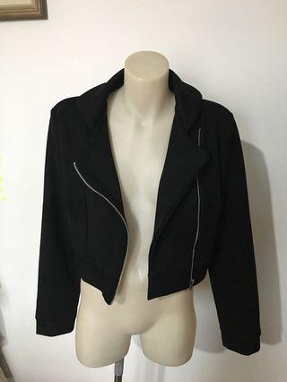 Boohoo crop jacket