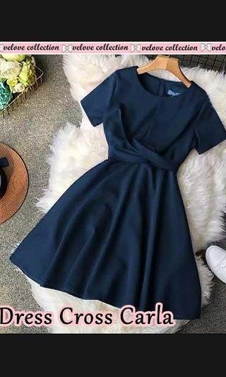 New dress navy cantique fit to 59kg