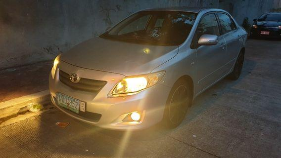 Toyota Altis g 2009 Model 1.6 engine Fresh in and out Supergood  Condition