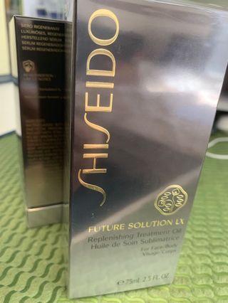 SHISEIDO  Future Solution LX Replenishing Treatment Oil (For Face & Body) 75ml