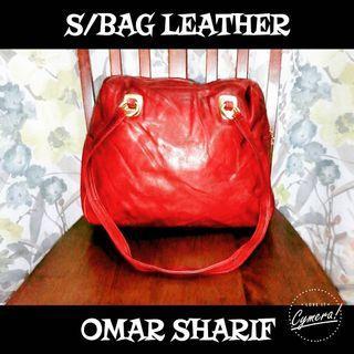 Shoulder Bag Leather Omar Sharif Paris