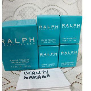 CLEARANCE ! RALPH BY RALPH LAUREN 50ml EDT WOMEN PERFUME + 4 x 7ml MINIATURE SET !