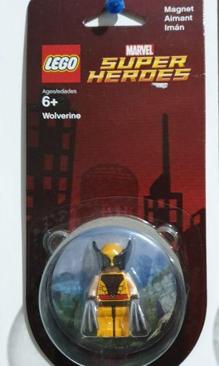 Lego Wolverine Magnet