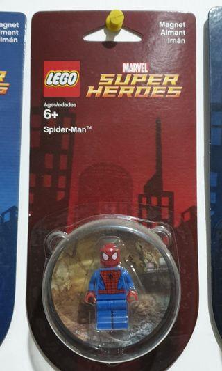 Lego Spiderman Magnet