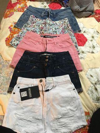 Bulk shorts