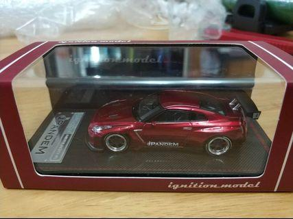 IG R35 GTR RED 1/64