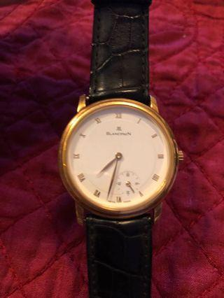 Preloved Blancpain Gold Automatic Watch (Men's)