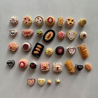 Miniatures decorative food pieces