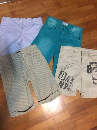 🚚 Boys Shorts - Authentic Fendi, DKNY, Zara, chateau de sable