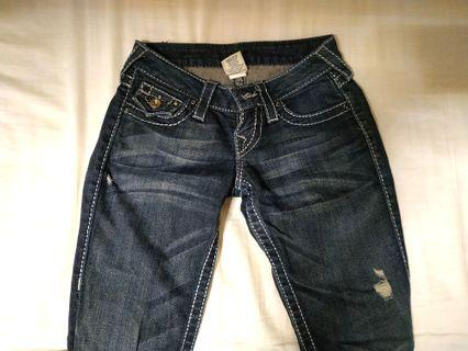 Authentic True Religion Skinny Jeans (Women US size 23)