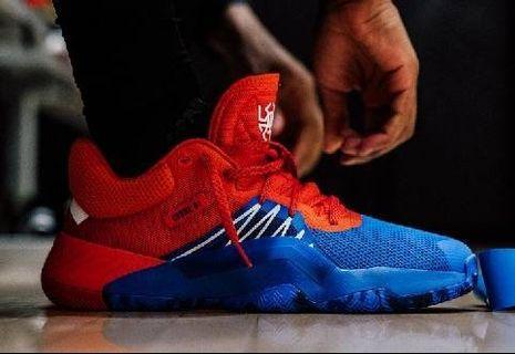 Adidas D.O.N. Issue #1 MITCHELL 蜘蛛人 籃球鞋
