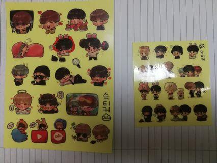 🚚 BTS Fansite Stickers