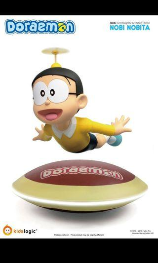 全新 Kids Logic Doraemon 叮噹 Nobi Nobita Magnetic Levitating Version 多啦A夢 大雄 磁浮 figure 擺設