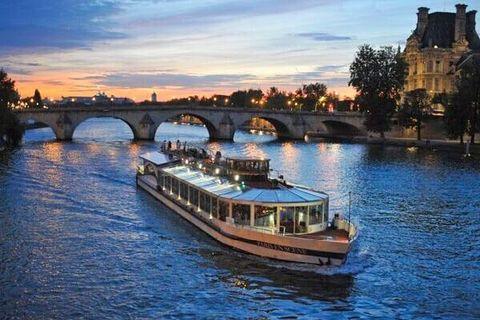 Paris Bateaux Parisienne Cruise Quick Entry Ticket
