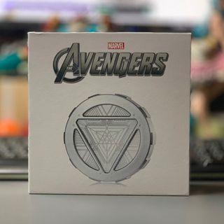 [全新罕見] Iron Man Arc Reactor 行動電源 尿袋 叉電器 充電 方舟反應爐 孤反應爐 鋼鐵奇俠 鋼鐵人 漫威 Marvel 超級英雄 Super Hero 漫畫 角色 奸角 Avenger 復仇者聯盟