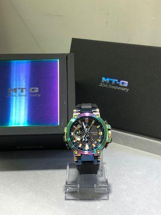 Casio G-shock MTG 20週年 MTG-b1000rb-1