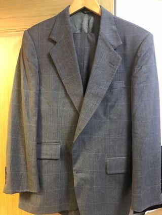 99% New Wool Suit - Stanley Blacker Couture (Made in USA)