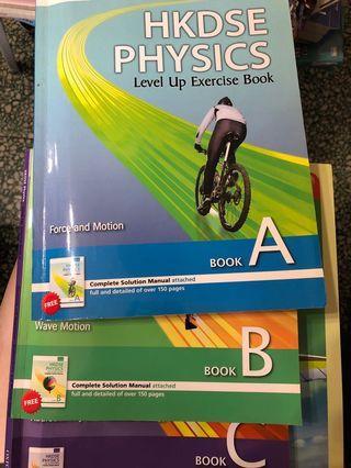 [DSE Physics] HKDSE Physics Level Up Exercise Book A-C