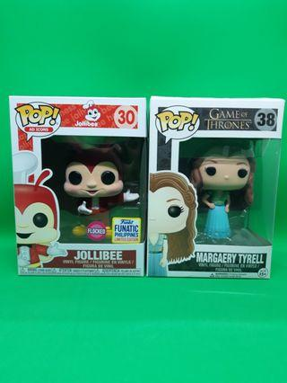 Funko Jollibee Flocked and Margaery Tyrell Set