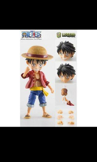 全新 海賊王 路飛 Legend Studio Fever Toy One Piece Monkey D Luffy Action Figure