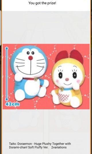 Doraemon & Doraemi Plush