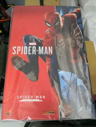 hottoys ps4 marvel spiderman