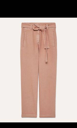 ARITZIA WILFRED FREE TIE-FRONT PANT SIZE 4