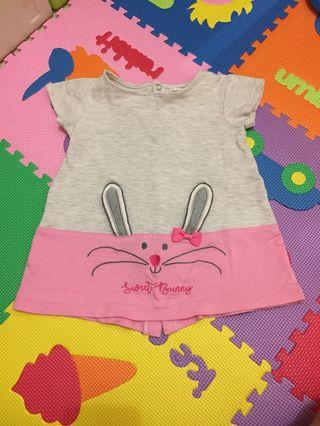Dress bunny size 12m