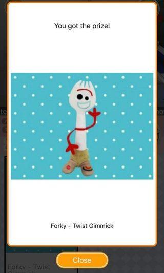 Toy Story Forky Gimmick