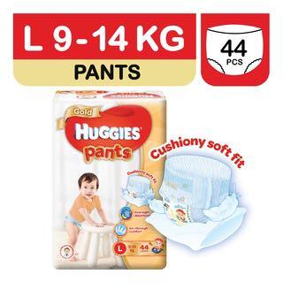 🚚 Huggies diapers Gold Pants size L