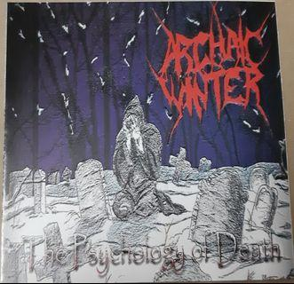 Music CD: Archaic Winter ‎– The Psychology Of Death