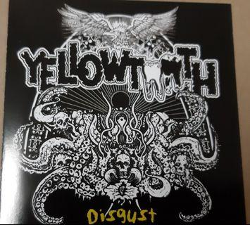 Music CD: Yellowtooth ‎– Disgust
