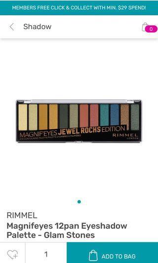 Rimmel London Eyeshadow Palette