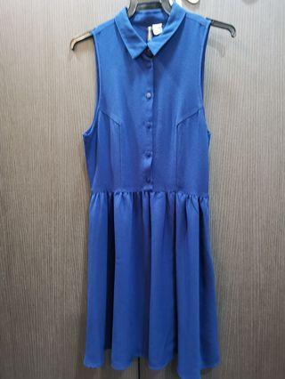 Bottom top Blue Dress H&M