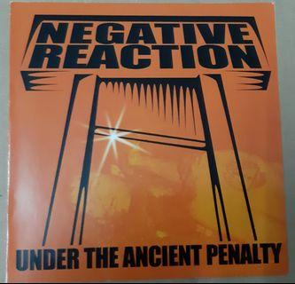 Music CD: Negative Reaction – Under The Ancient Penalty