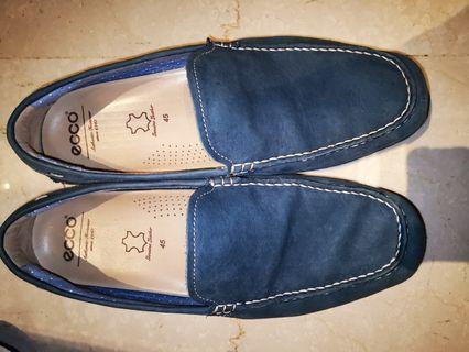 Geox leather suede Loafers size 46
