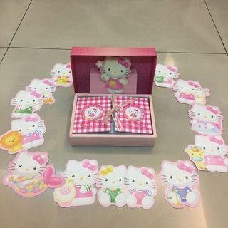 🚚 現貨 Hello Kitty 限量星座系列電話卡 中華電信信用卡 夜光收藏盒