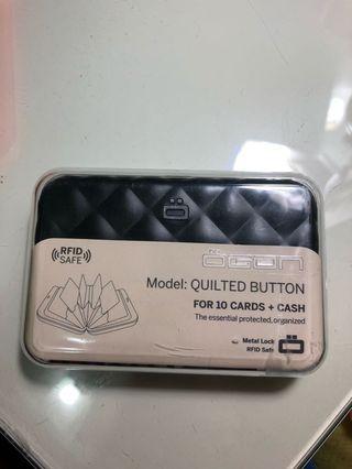 Ogon 旅行專用防磁信用卡銀包 黑色 全新