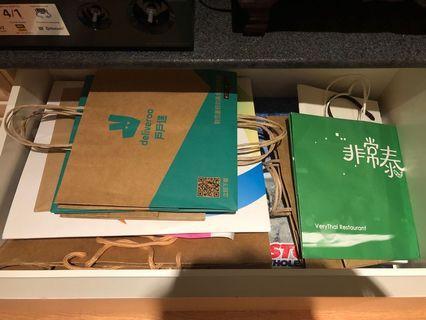 🚚 紙袋×40個