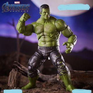 "PO Marvel Legends 6"" BAF Avengers End Game Hulk (From War Machine, Patrol, Shuri, Loki, Beta Ray Bill, Rock Python, Union Jack) Figure"