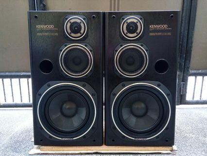 Kenwood 3 way speaker from japan with front cover