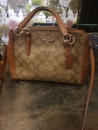 Coach mini christie bag